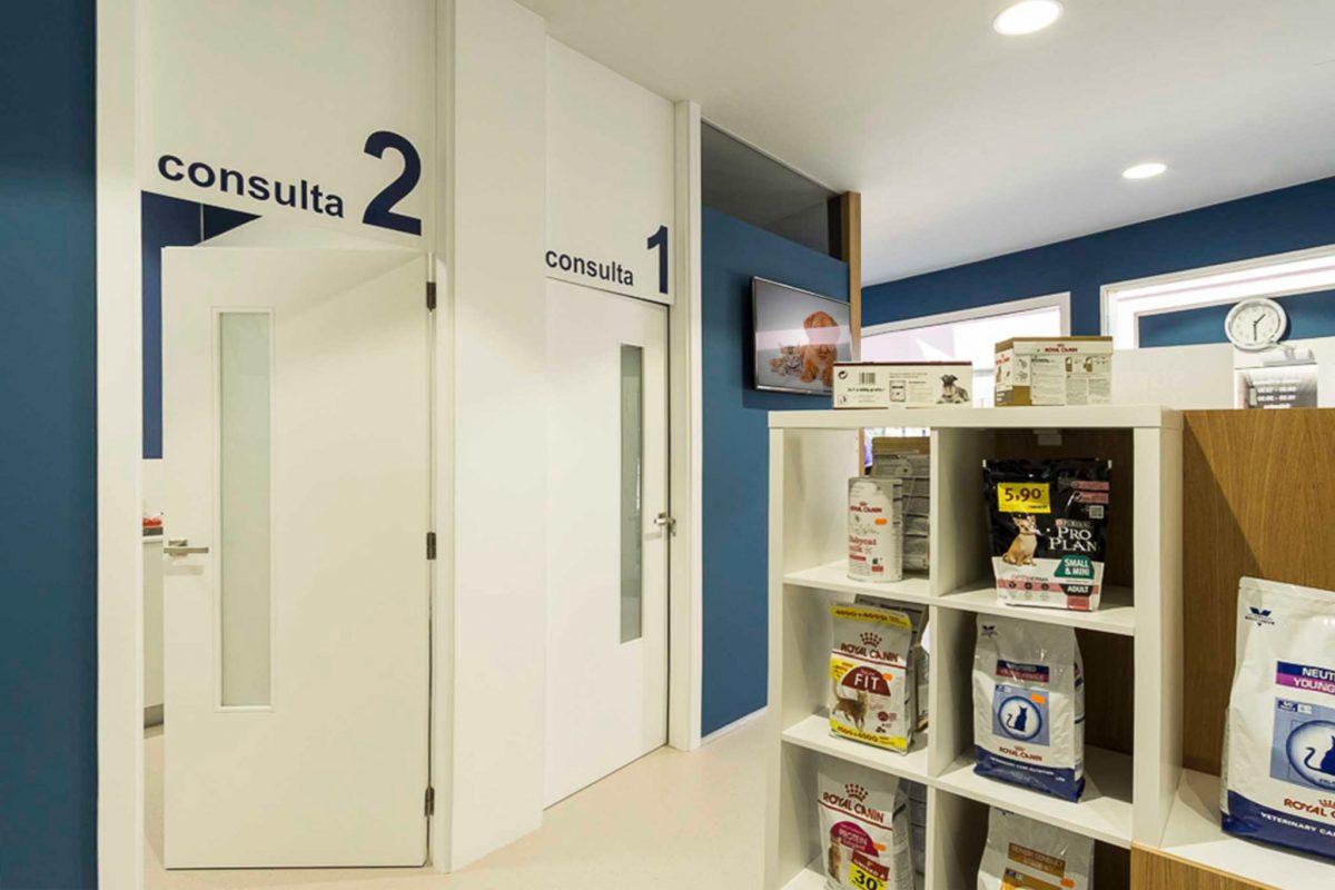 diseño clinica veterinaria Pontevedra Ponteareas