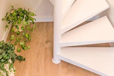 diseño escaleras caracol en Vigo