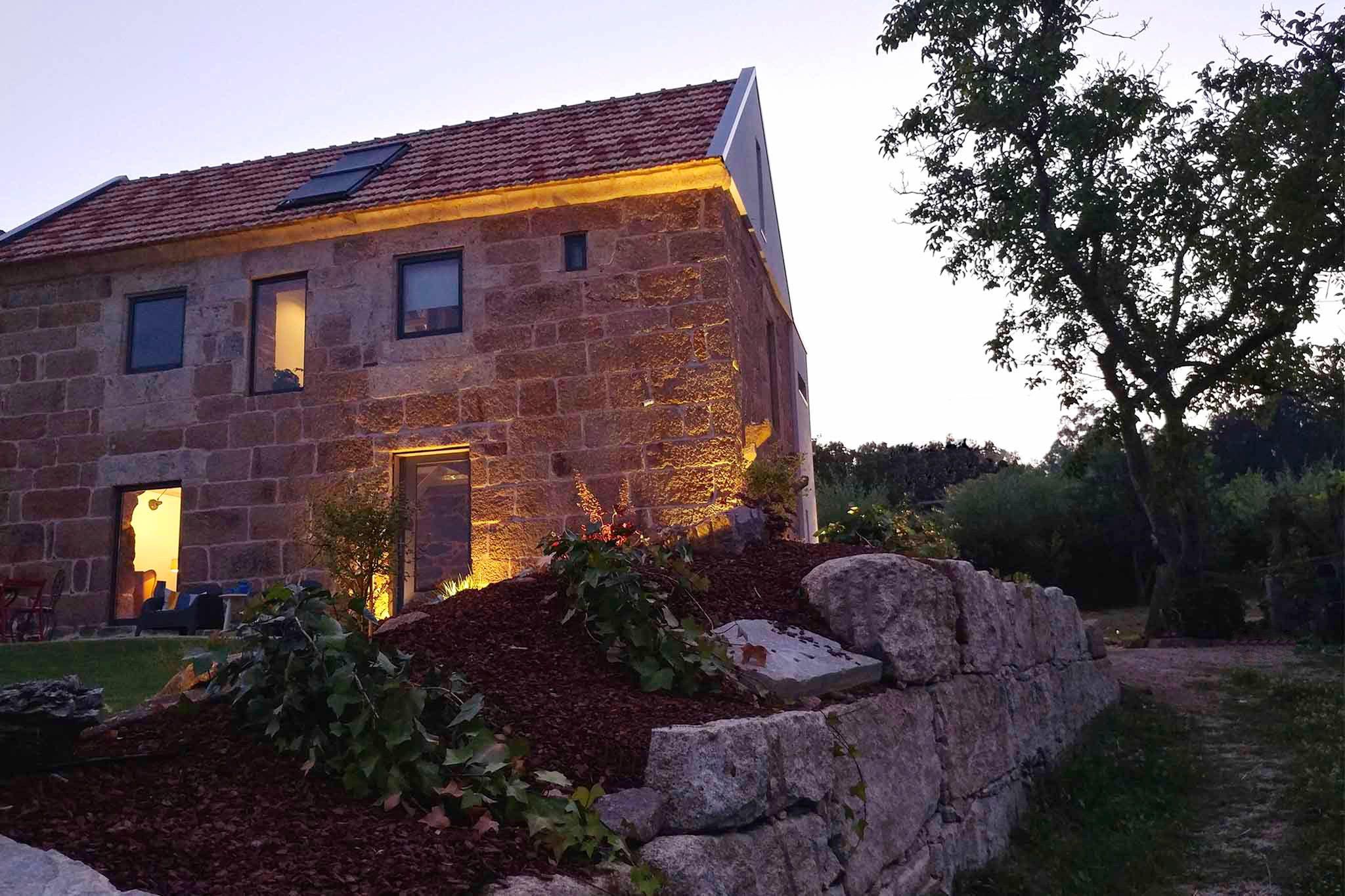 rehabilitación integral de una vivienda en Pontevedra