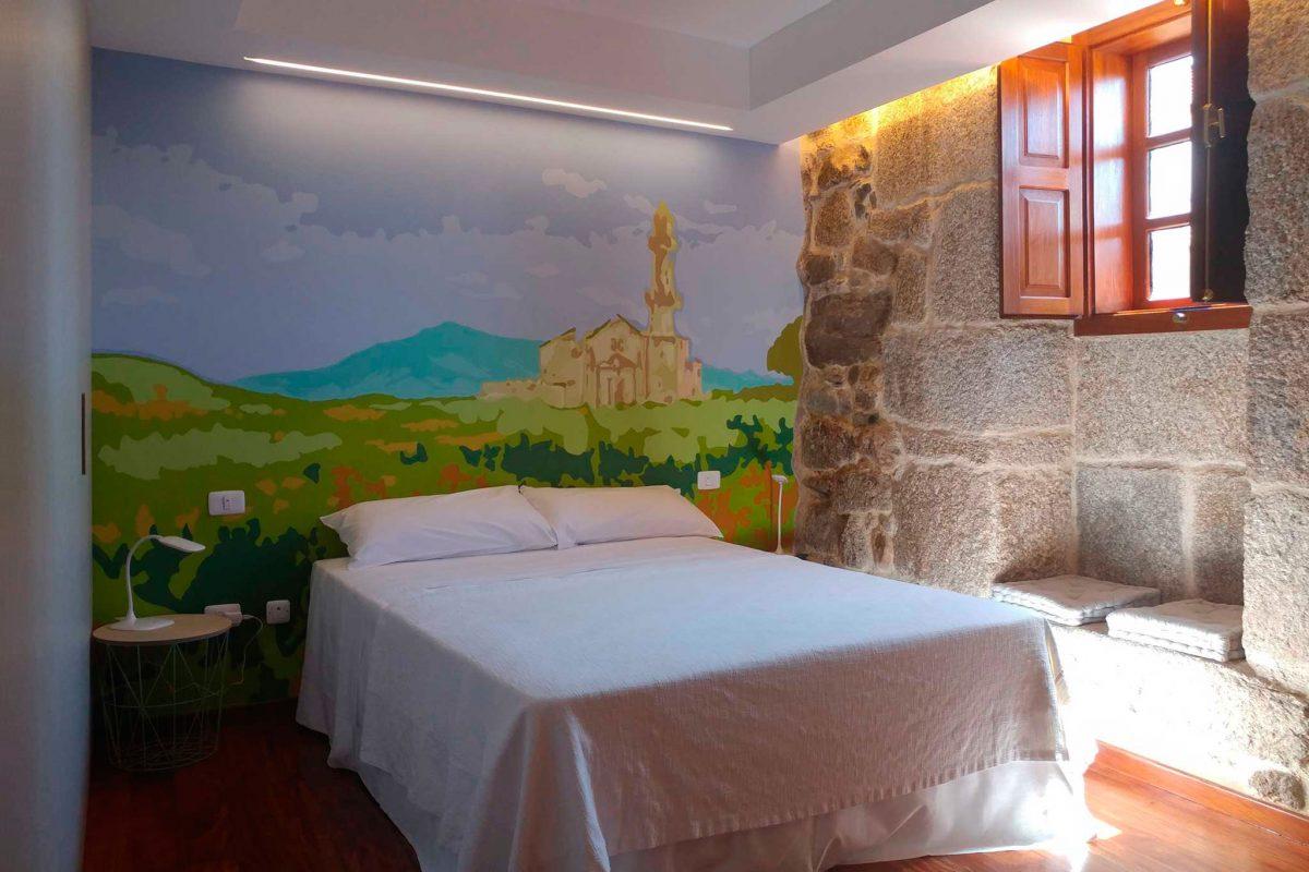 Diseño hotel rural Ourense galicia