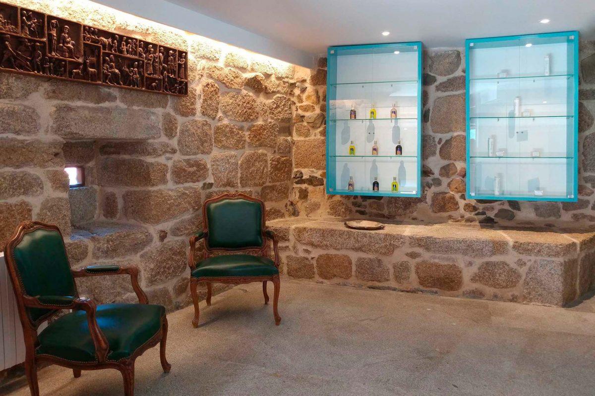 diseño recepcion hotel Ourense