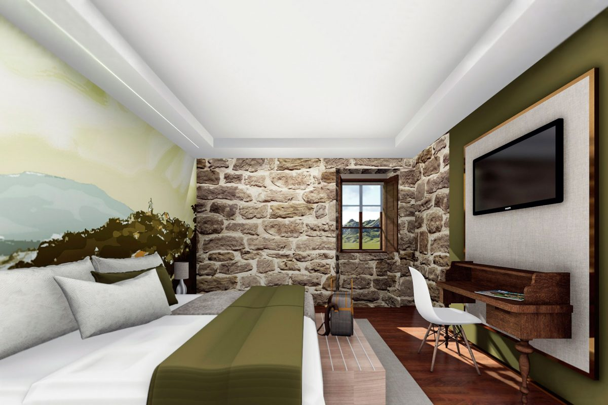 proyecto diseño hotel Ourense