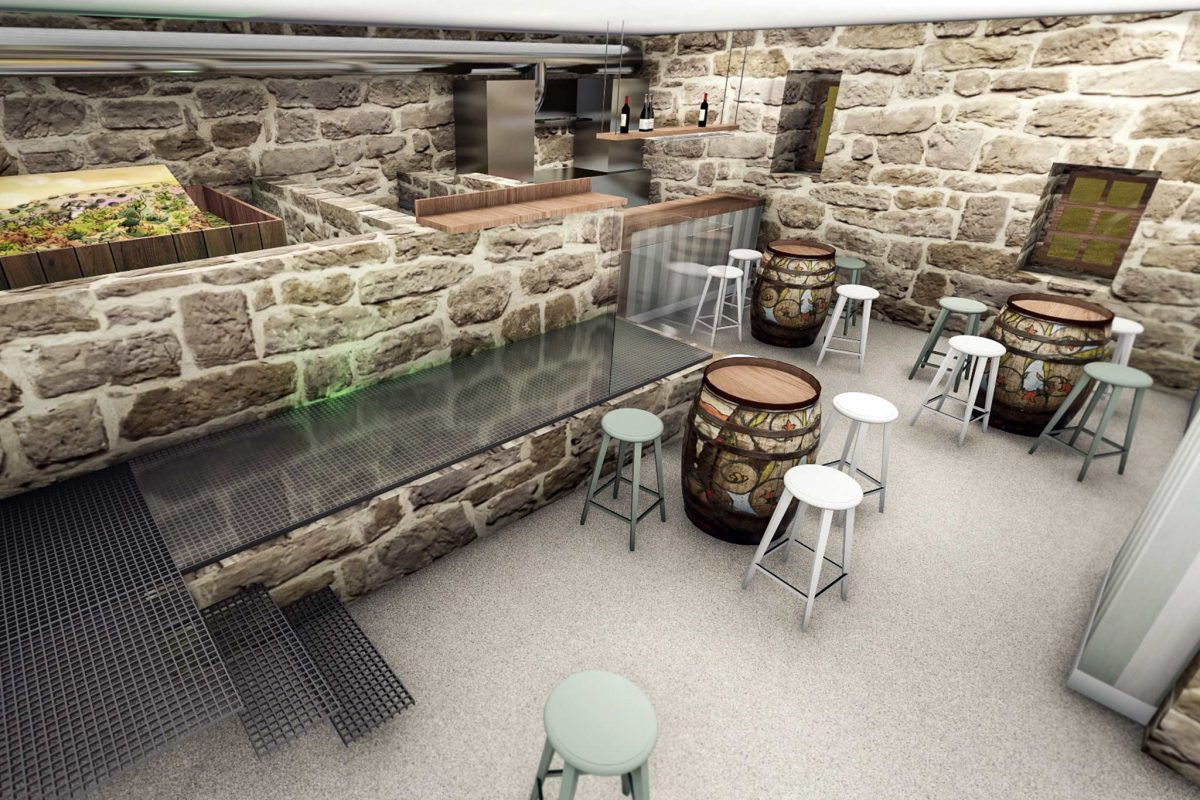proyecto diseño bar en Ribadavia ourense